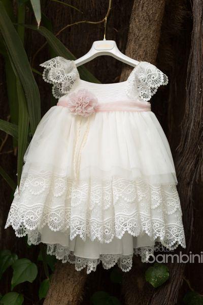 Summer Collection  Βαπτιστικό φόρεμα της Dolce Bambini 1de45333d20