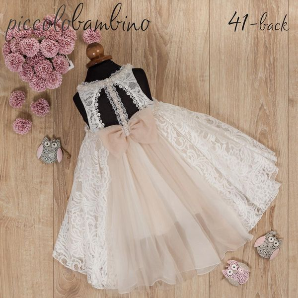 Summer Collection  Βαπτιστικό φορεματάκι της Piccolo Bambino 5a48fcc8c8d